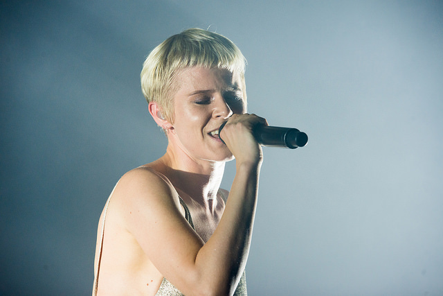 Robyn performing at Boston calling 2016. Image by Andy Moran via Flickr